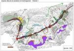 Cartographie étude d'impact environnement